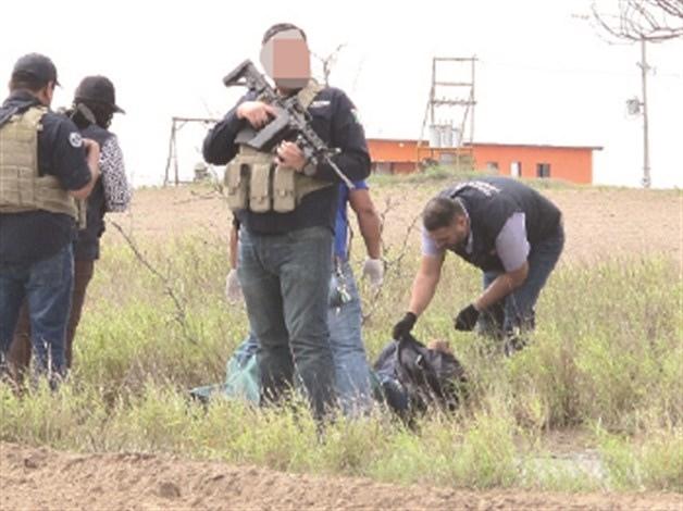 Torturado. Las autoridades investigadoras señalaron que la víctima se encontraba a atado de pies y brazos, presentando huellas de violencia.