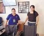 Hacen colecta para unas sillas de rueda