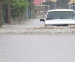 Azota tormenta e inunda a Río Bravo