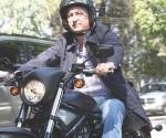 Se cae Vergara de motocicleta