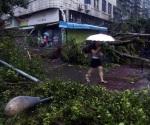 Enfurece la naturaleza, deja tifón 7 muertos en China