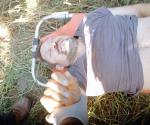 Muere agricultor en accidente vial