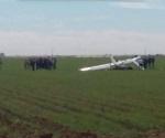 Mueren dos personas al desplomarse avioneta