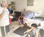Albergan a grupo de cubanos en Chiapas
