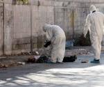 Tiran cuerpo de hombre torturado y asesinado