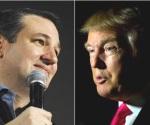 Trump acusa de 'fraude' a Ted Cruz