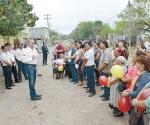 Toman protesta a comités de obra en Rancho Grande