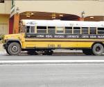 Se queda tirado el microbús