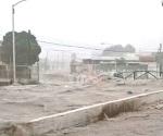 Azota tormenta y granizada a regios