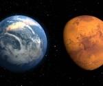 Marte, Tierra y Sol se alinearán el domingo