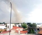 Sorprende supuesto torbellino en Toluca