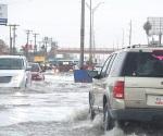 Pega tormenta en Matamoros