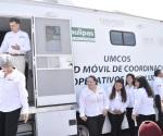 Recibe Tamaulipas unidad móvil de salud