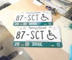 Disponen de más placas para los discapacitados