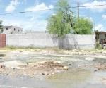 Anegan aguas negras la colonia Riberas de R. Grande