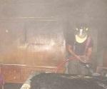 Arde casa en Fraccionamiento Azteca, cuando moradores se encontraban de vacaciones