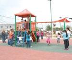 'Aceleran' parques de barrio