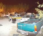 Encuentran cementerio de vehículos