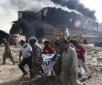 Explosiones en barco dejan 12 muertos y 58 heridos