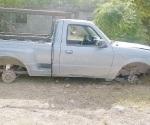 Ubica desmantelados dos vehículos la PME