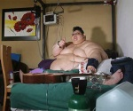 Mexicano con obesidad mórbida pesa casi 600 kilos