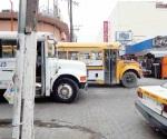 Desmienten aumento al transporte