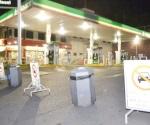 Permanecen cerradas 10 gasolineras en la frontera
