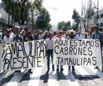 Marchan agricultores tamaulipecos en CDMX