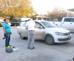 Decomisan auto usado en delito