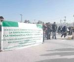 Protestan contra Pemex por gasolinas