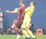 La Roma hunde al Villarreal