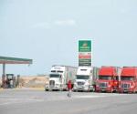 Paran mitad de camiones de carga por gasolinazos