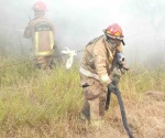 Intensa movilización de bomberos en la ciudad