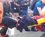Muere obrero por flamazo en barco