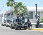 Vigila gendarmería puente fronterizo