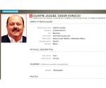 Emite Interpol ficha contra César Duarte