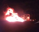 Arde otra toma clandestina en Amozoc; muere una persona