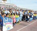 Fomentan deporte en niñez