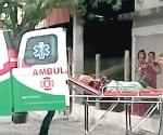 Rescatan inconsciente a persona de la tercera edad