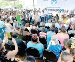 Recibe Maki Ortiz a más de mil ciudadanos en audiencia pública del gobierno municipal