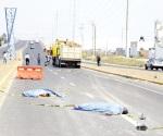 Mueren 2 hombres en carambola en Puebla
