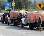 Operativo contra huachicoleros en Puebla