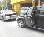 Se creen dueño de la calle y dañan vehículos