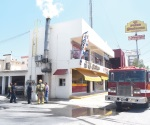 Conato de incendio moviliza autoridades