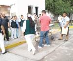 Evacuación en el IMSS # 17 por amenaza de incendio