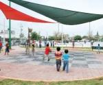 Recuperan parques de Bienestar Social