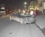 Crispante accidente sin heridos