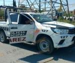 Ataque a policías de Juárez, N.L. deja dos detenidos y un herido