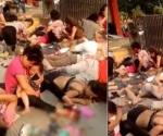 Explosión en guardería de China; 7 muertos y 59 heridos