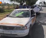 Reanudan operativos contra los taxis piratas